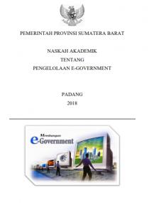 Dokumen Pendukung Dalam Penyusunan Peraturan/Kebijkan/Keputusan